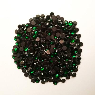 Камни декоративные DMC SS16 клеевые, зеленый