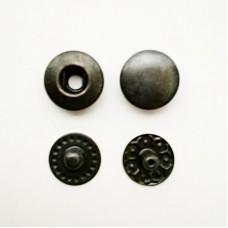 Button Alpha 10mm, purse oxide (Turkey)
