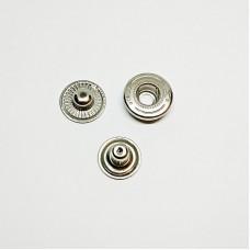 Button Alpha 15mm without cap nickel (Turkey)