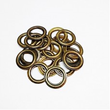 8mm reverse ring for No. 5 eyelet, stainless steel, antique