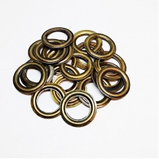 8mm reverse ring for eyelet No. 5, antique