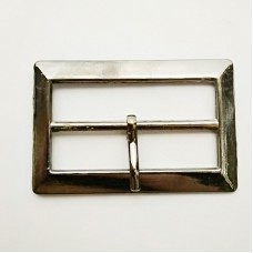 Buckle clasp for clothes 38mm, faded nickel