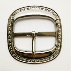 Belt buckle 45mm, faded nickel