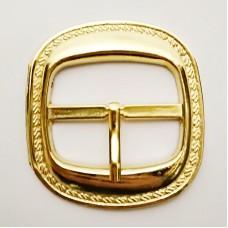 Belt buckle 45mm, gold