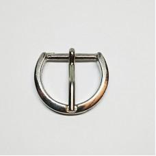 Belt buckle 20mm, nickel