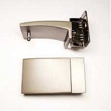 Belt buckle 34mm, gray