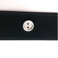 Пуговица плоская пришивная на два отверския 15 мм